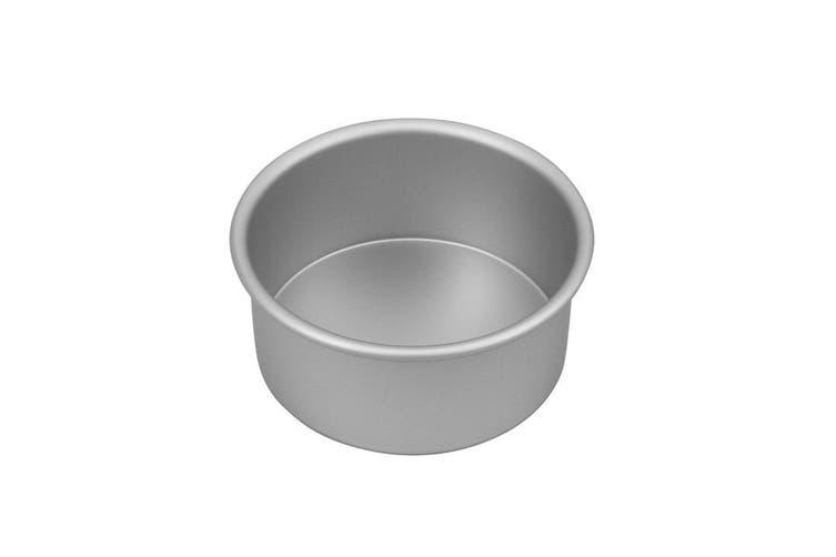 Bakemaster Silver Anodised Round Cake Pan 15x7.5cm