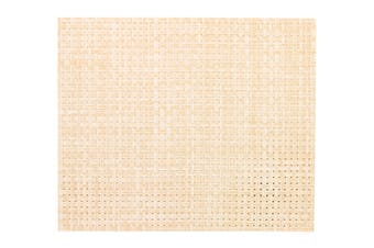 IconChef Plate Mat Set of 6 Tan Basketweave