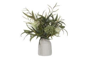 Rogue Wild Pin Cushion Mix Leaf Vase 50cm x 52cm x 62cm Green
