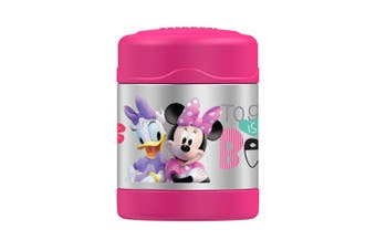Thermos FUNtainer Stainless Steel Vacuum Insulated Food Jar 290ml Minnie Mouse