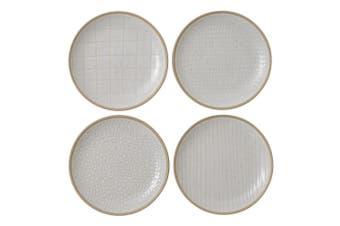 Royal Doulton Gordon Ramsay Maze Grill Plate 16cm Mixed White Set of 4