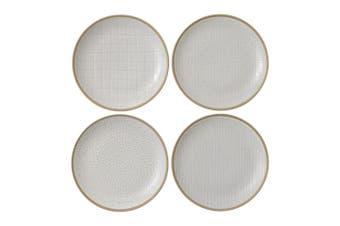 Royal Doulton Gordon Ramsay Maze Grill Plate 22cm Mixed White Set of 4