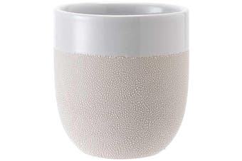 Ladelle Cafe Tumbler Textured White Set of 4