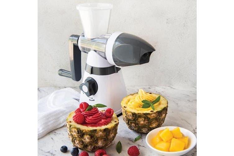 Avanti Frozen Fruit Ice Cream Maker