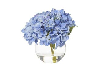 Rogue Hydrangea Sphere Vase 24x24x23cm Blue