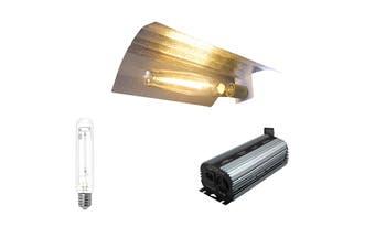 EverGrow 400W HPS/MH Grow Light Kit Includes Reflector Ballast - HPS Kit