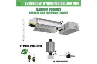 EverGrow 945W CMH - DE Double Ended Ceramic Metal Halide Reflector Ballast Kit - 4200K