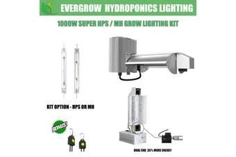 Flexstar 1000W DE Super HPS/MH Grow Light Kit Integrated Reflector and Ballast - HPS Kit