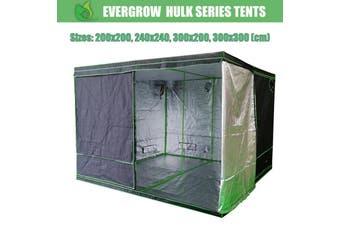 EverGrow Hulk Series Hydroponics Grow Tent 200x200, 240x240, 300x200, 300x300 cm (Tent Only) - 300 x 300 cm
