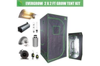 EverGrow Pro Series 2x2 ft (60x60x142 cm) Hydroponic Grow Tent Full Bundle Kit