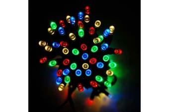 Solar 200/300/500/800/1000 LED Icicle String Lights - 500 LED / Multi