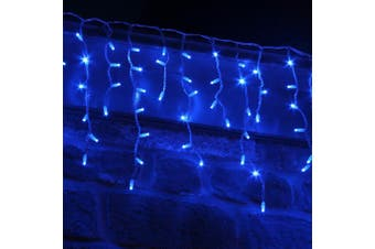 Icicle Lights 500 LED Christmas Events Decorations - Blue