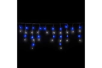 Icicle Lights 500 LED Christmas Events Decorations - Blue White