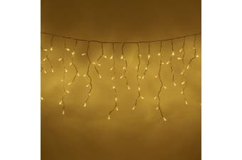 Icicle Lights 500 LED Christmas Events Decorations - Warm White