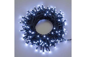 Fairy Lights 500 LED Christmas Events Decorations - Cool White / Green