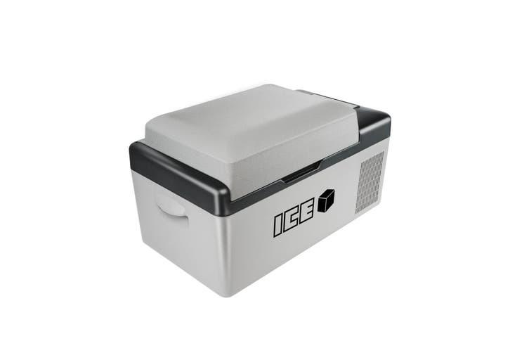 ICE 20L Portable Compressor 2 Way Fridge Freezer 12/24V DC 240V AC