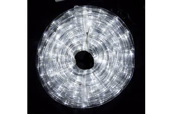 Super Value 18m LED Rope Light 8 Function Controller Indoor/Outdoor Decoration - Cool White