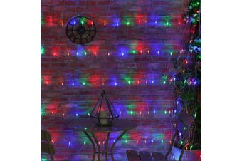 200-288 LED Net Lights Outdoor Indoor Use 2.5 x 2.5m, 5.0 x 2.5m - 5.0 x 2.5 / Multi-Coloured