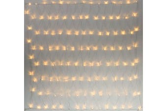 200-288 LED Net Lights Outdoor Indoor Use 2.5 x 2.5m, 5.0 x 2.5m - 5.0 X 2.5 / Warm White