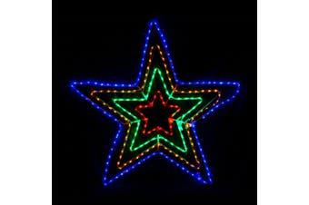 Christmas LED Motif 4 Layer Star 108x108cm Outdoor Display