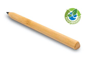Bamboo Inkless Pen - Carbon Tip Pencil Pen, Environmentally Friendly, for Drawing Sketching, Great for School & Office Supplies