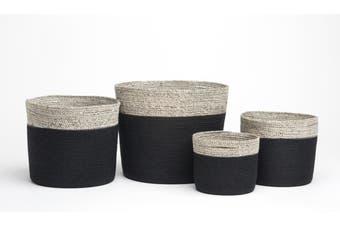 Bedford (Set Of 4) Handmade Jute Basket