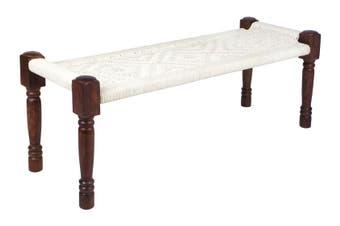 Atlas Cotton Braid Bench Seat
