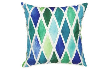 Blue Diamond Outdoor Cushion with Insert 45x45 CM