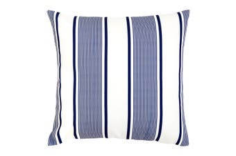 Kai Blue and White Outdoor Cushion with Insert 50x50 CM