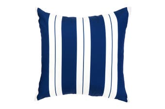 Marella Blue and White Outdoor Cushion with Insert 50x50 CM