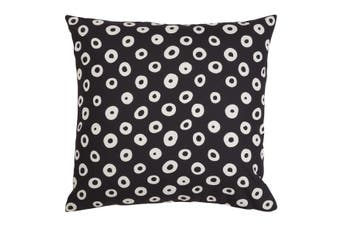 Speckle Beige and Black Outdoor Cushion with Insert 50x50 CM