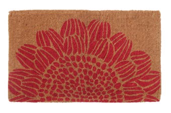 45x75cm Blossom 100% Coir Doormat