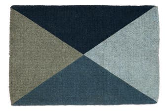 Blue Flag 100% Coir Doormat 60x90 cm