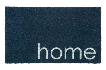 Blue Home PVC Backed Coir Doormat 45x75 cm