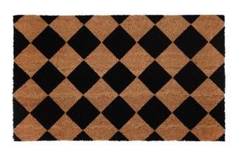Diamond PVC Backed Coir Doormat