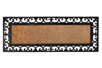 45x120cm Vista Rubber Bordered Coir Doormat