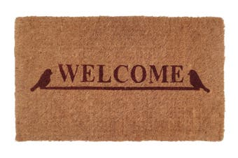 Welcome 100% Coir Doormat 45x75 cm