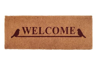 Welcome 100% Coir Doormat 45x120 cm