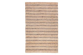 120x180cm Aster Jute and Cotton Rug, Floor Rug, Area Rug