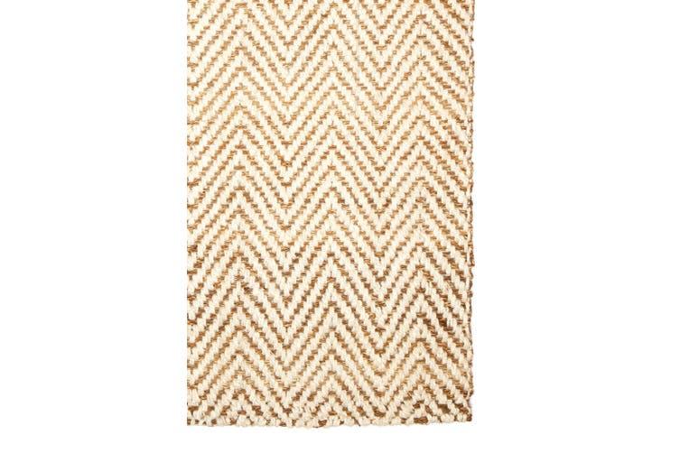 120x180cm Herringbone Natural Fibre Jute Rug, Floor Rug, Area Rug