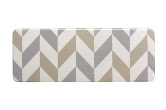 120x44 cm Herringbone Gainsboro Kitchen Laundry Bathroom Anti Fatigue Mat