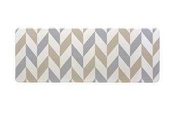 180x65 cm Herringbone Gainsboro Kitchen Laundry Bathroom Anti Fatigue Mat