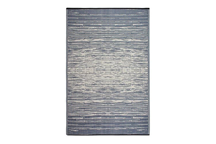 180x270cm Brooklyn Navy Recycled Plastic Outdoor Rug and Mat