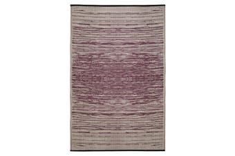 180x270cm Brooklyn Wine Recycled Plastic Outdoor Rug and Mat