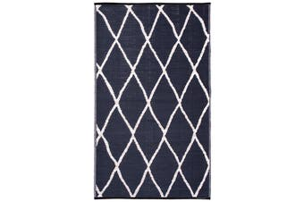 120x179 cm Recycled Plastic Outdoor Rug and Mat Nairobi