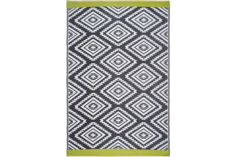 150x238cm Valencia Recycled Plastic Outdoor Rug and Mat