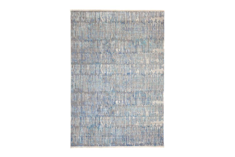 97x150cm Crupet Blue Indoor Rug, Area Rug, Floor Rug