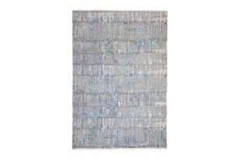 160x223cm Crupet Blue Indoor Rug, Area Rug, Floor Rug