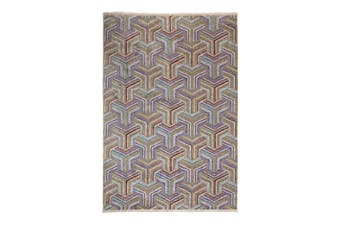 Elaye Multicolour Indoor Rug, Area Rug, Floor Rug