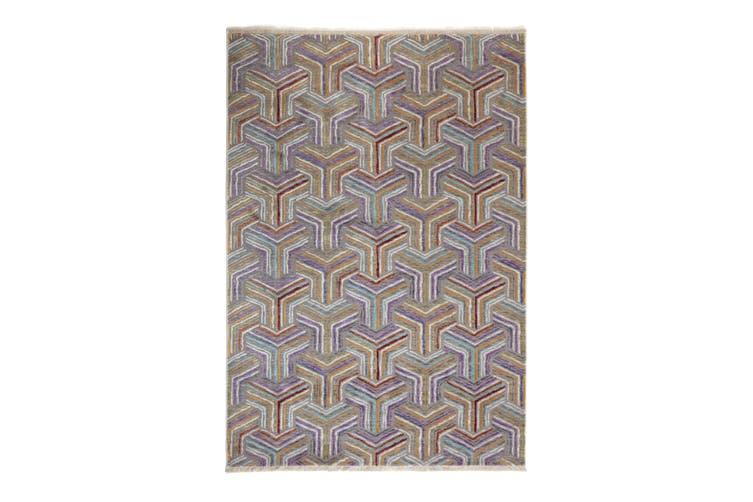 97x150cm Elaye Multicolour Indoor Rug, Area Rug, Floor Rug